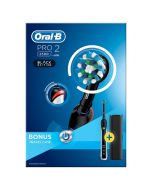 Oral B Pro Power 2500 3D Black Toothbrush & Travel Case Special Price