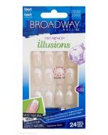 Broadway Nails® Fast French Illusions - Short Length