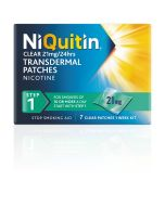 NiQuitin Clear Patch Step 1 - 7 days 21mg