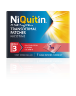 NiQuitin Clear Patch Step 3 - 7mg