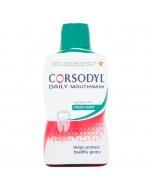 Corsodyl Gum Care Mouthwash Alcohol Free Daily Fresh Mint 500ml
