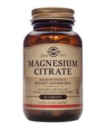 Solgar Magnesium Citrate Tablets Pack of 60