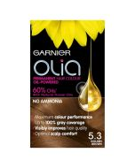 Garnier Olia Hair Colour-5.3 Golden Brown