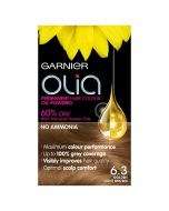 Garnier Olia Hair Colour-6.3 Golden Light Brown