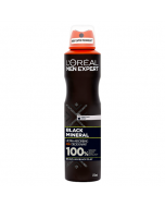 L'Oreal Paris Men Expert Black Mineral Deodorant 250ml