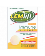 Lemlift Immune Support Orange Chewable Tablets 20 Pack