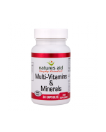 Natures Aid Multivitamins & Minerals with iron 90
