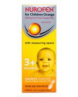 Nurofen For Children (Orange Flavour With Spoon) 200ml