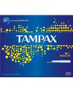 Tampax Regular Tampons 20 Pack