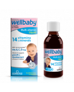 Vitabiotic Wellbaby Multi-vitamin Liquid 150ml