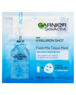 Garnier Fresh-Mix Face Sheet Shot Mask with Hyaluronic Acid 33g