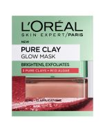 L'Oreal Paris Pure Clay Glow Mask 50ml
