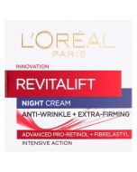Loreal Paris Revitalift Night Cream Anti-Wrinkle Plus Firming 50ml