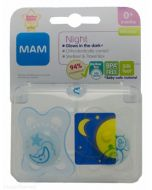 MAM Night  6months+ Soother 2pk