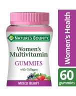 Nature's Bounty Women's Multivitamin Gummies with Collagen - Pack of 60