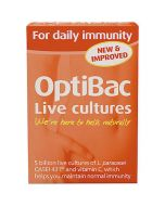 OptiBac Probiotics For Daily Immunity (30 Capsules)