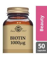 Solgar Biotin 1000 mcg Vegetable Capsules