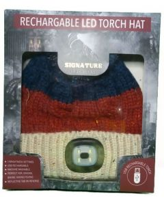 Something Special Men's Chunky Knit LED Hat