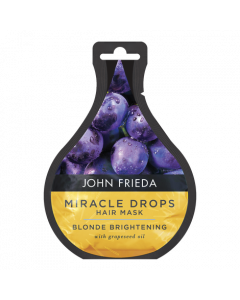 John Fried Miracle Drops Hair Mask Blonde Brightening 25ml