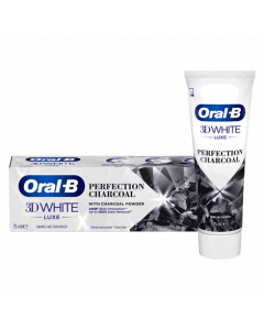Oral B 3D White Luxe Charcoal 75ml