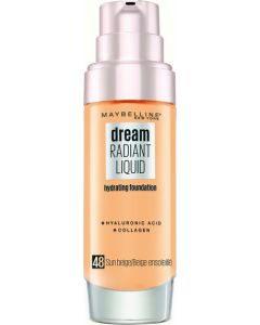 Maybelline Dream Satin Liquid Foundation-048 Sun Beige