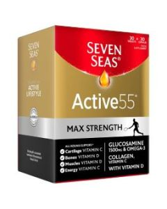 Seven Seas Activ 55 Max Strength 60 Units