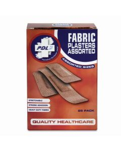 PharmaCare Fabric Assorted Plasters 30's