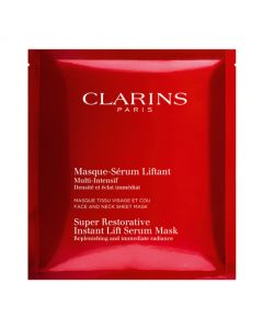 Clarins Super Restorative Instant Lift Serum Mask 5 Sachets