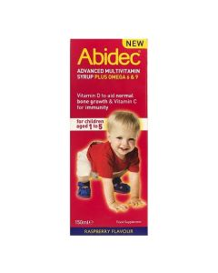 Abidec Multivitamin Syrup with Omega 3 - 150ml