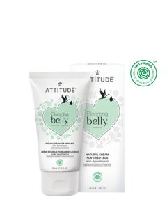 Attitude Blooming Belly Cream For Tired Legs 150ml