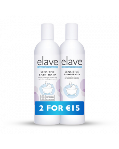 Elave Baby Shampoo And Bath 400ml Twin Pack