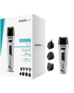 BaByliss Men 8 in 1 Face and Body Trimmer 7056NU Box