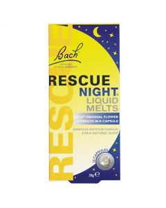 Bach Rescue Night Liquid Melts - 28