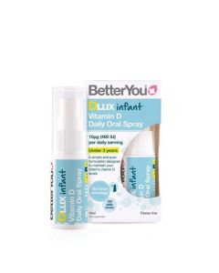 BetterYou DLux Infant Daily Vitamin D Oral Spray 15ml