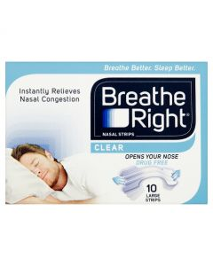 Breathe Right Nasal Strips-Large