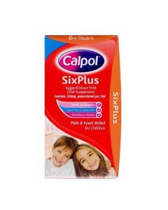 Calpol SixPlus With Spoon 140ml