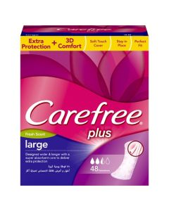 Carefree Large Fresh Value Pack 48s