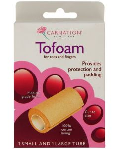 Carnation Footcare Tofoam and Padding Toes Fingers