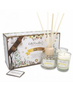 Celtic Candles Winter Spice Diffuser Gift Set 120ml