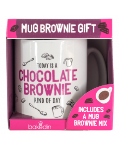 Chocolate Mug Brownie & Mug Gift Set