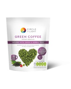 Circle Of Light Green Coffee Infused With Green & Herbal Teas