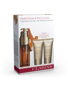 Clarins Double Serum & Nutri Lumiere Value Pack