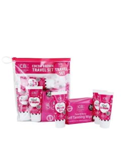 Cocoa Brown Travel Set