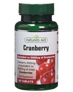 Natures Aid Cranberry 200mg-90s