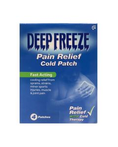 Deep Freeze Pain Relief Cold Patches-4