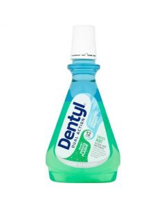 Dentyl Active Plaque Fighter Mouthwash - Smooth Mint 500ml