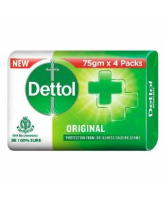 Dettol Anti-Bacterial Original Soap 4 x 75g