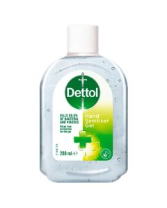 Dettol Hand Sanitiser Gel Original 200ml