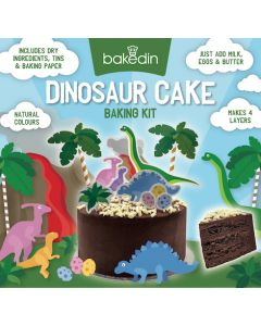Dinosaur Cake Baking Kit