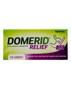 Domerid Relief - 10 Tablets